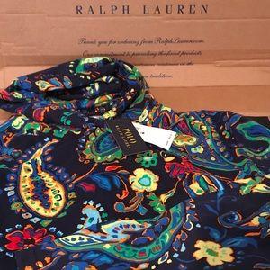 Polo Ralph Lauren Multicolor Bandana Floral Hoodie